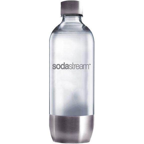 Tillbehör kolsyremaskin SodaStream Petflaska Stål 1L Metall 104322