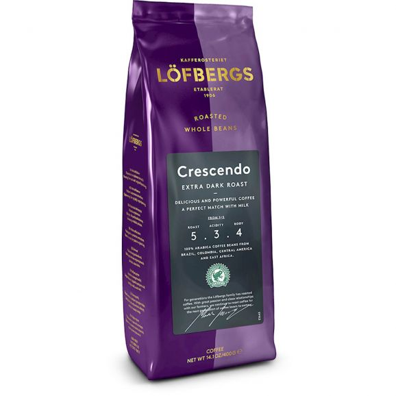 Kaffe Löfbergs Hela Bönor Crescendo 104345