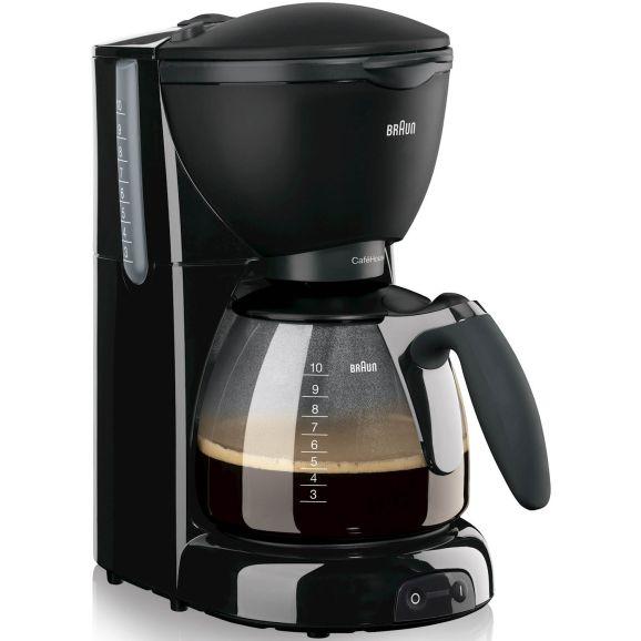 Kaffebryggare Braun KF560 Caféhouse Svart 105962