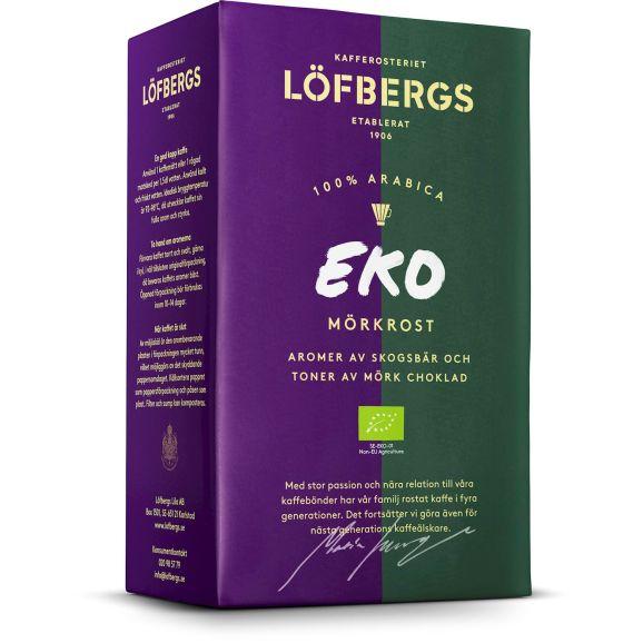 Kaffe Löfbergs EKO Bryggkaffe mörkrost 106083