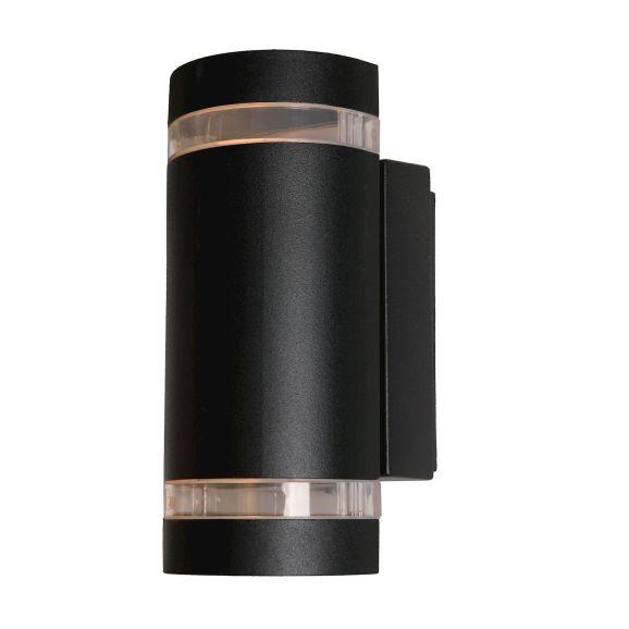 Vägglampa utomhus Nordlux Focus Duo Wall Svart 108605