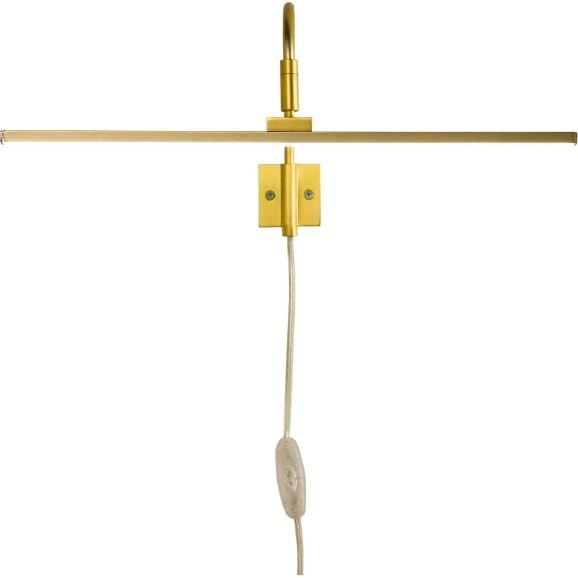 Vägglampa Aneta MIRO Tavelbelysning Guld Guld 108697