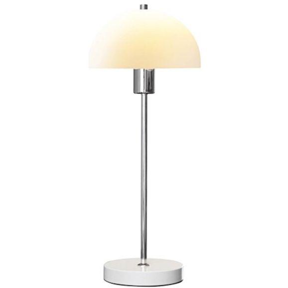 Skrivbordslampa Herstal Vienda Vit Glas Vit 108750