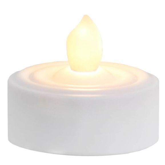 LED-ljus Star Trading Värmeljus 2p varmvit Vit 109117