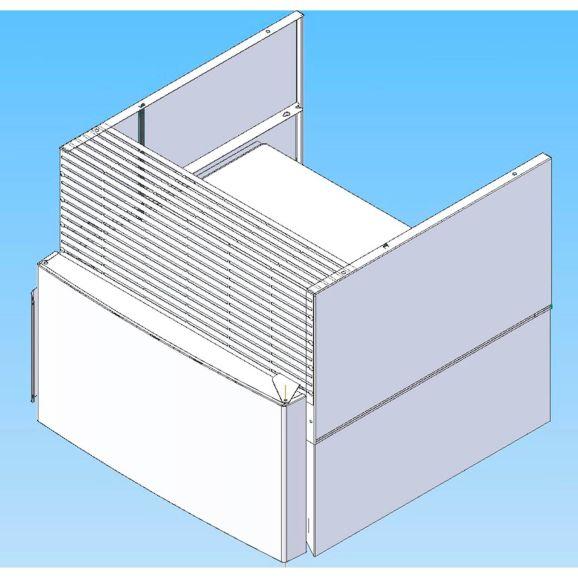 Övrigt & tillbehör kyl & frys Siemens Q8CNPK2035 Vit 109332