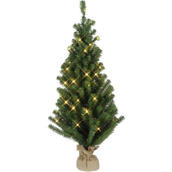 Julgran Star Trading Dekorationsträd Toppy Grön 109494