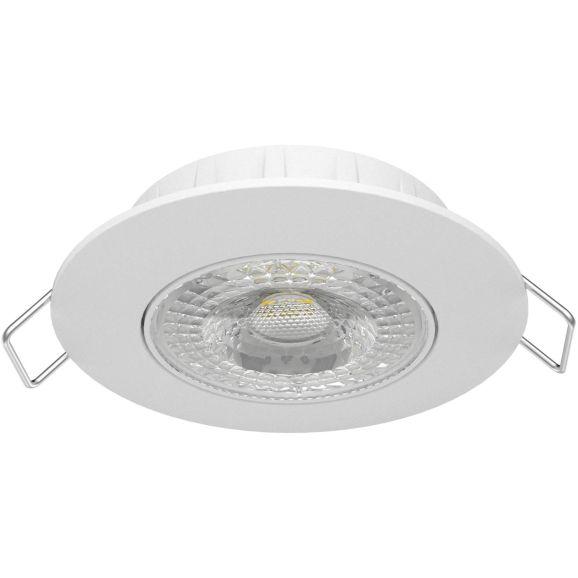 Infälld spotlight Airam Cosmo LED downlight Vit 110752