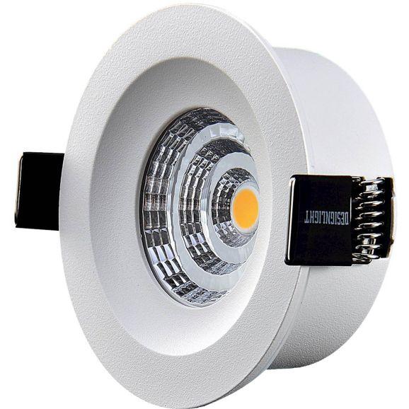 Infälld spotlight DesignLight Downlight Q-4MW Vit 110815