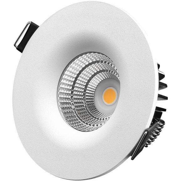 Infälld spotlight DesignLight Downlight P-1601530 Vit 110817