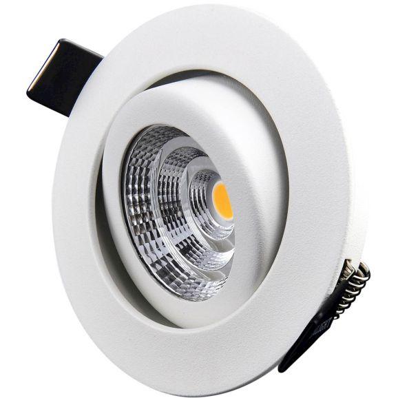 Infälld spotlight DesignLight Downlight B-1MW30D Vit 110821