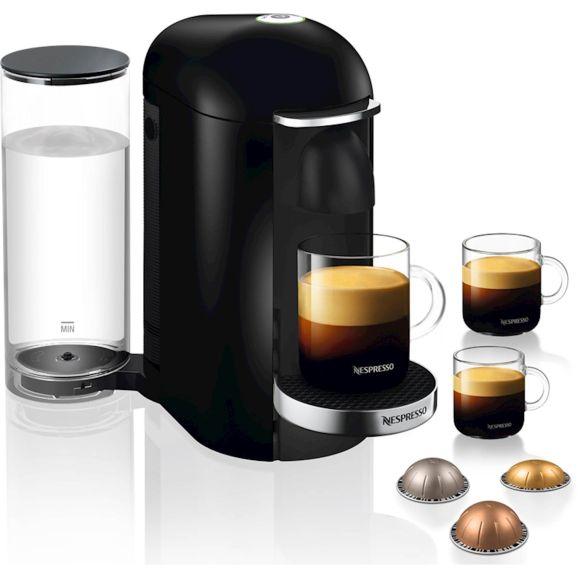 Kapselmaskin Nespresso Vertuo Plus Svart Svart 112060