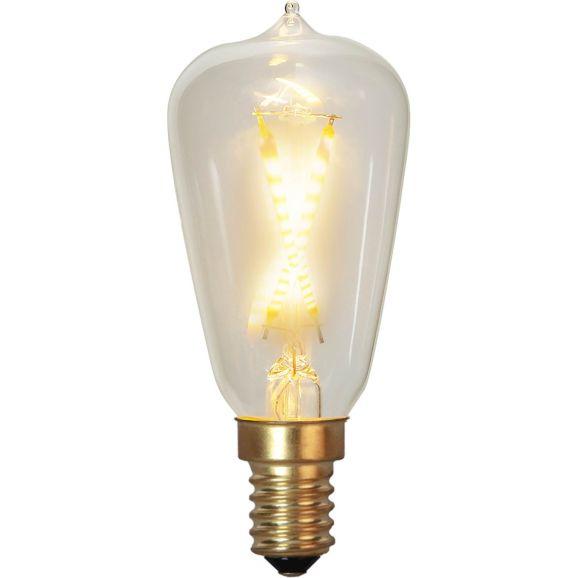 Ljuskälla LED E14 Star Trading LED 353-72 E14  Soft Glow Guld 112449