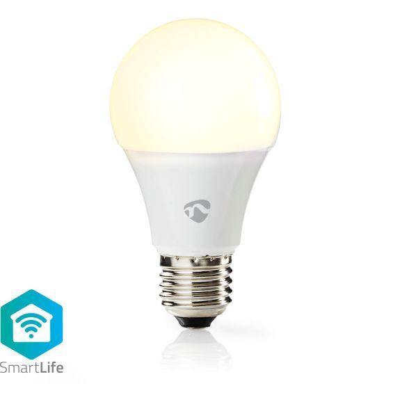 Smart ljuskälla Nedis WIFILW11WTE27 Vit 112741