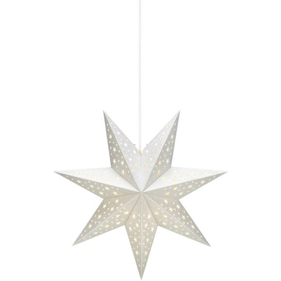 Julstjärna Markslöjd Solvalla 704416 45cm silver Silver 112750