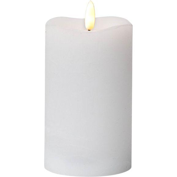 LED-ljus Star Trading 063-38 Vaxljus Flamme vit Vit 112959