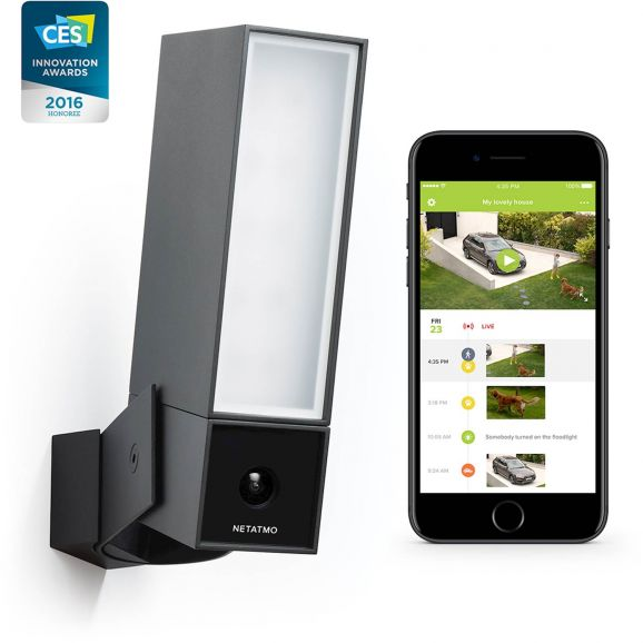 Övervakning & Säkerhet Netatmo Smart Utomhuskamera - Presence Svart 113035