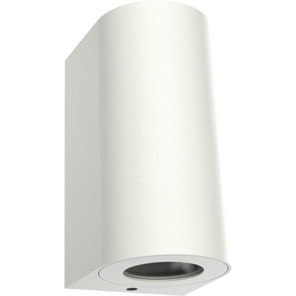 Vägglampa utomhus Nordlux Canto Maxi 2 Vit GU10 Vit 113329
