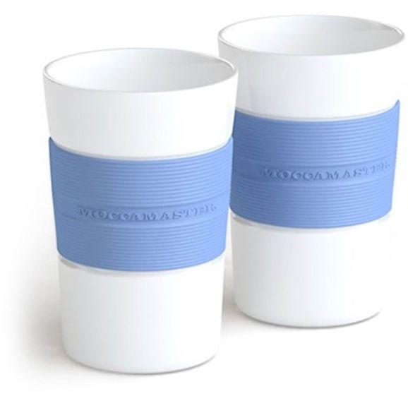 Moccamaster 2 muggar Pastel Blue Blå 113645