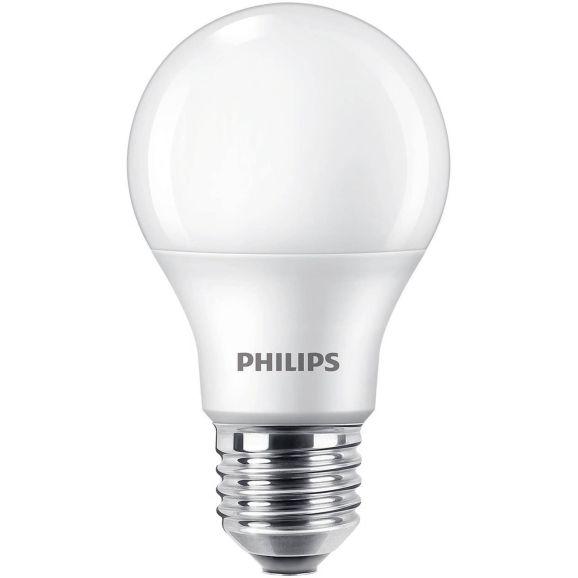 Ljuskälla LED E27 Philips NORMAL 60W E27 FROSTAD WGD Vit 113865