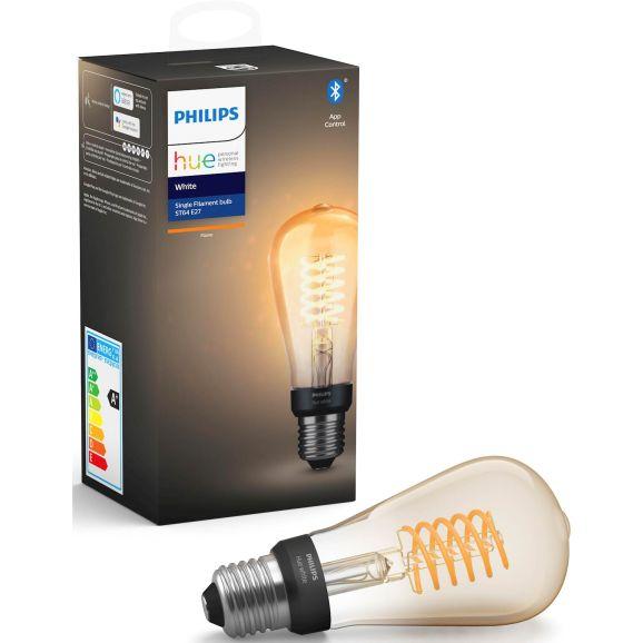 Smart ljuskälla Philips Hue Fil ST64 E27 113969