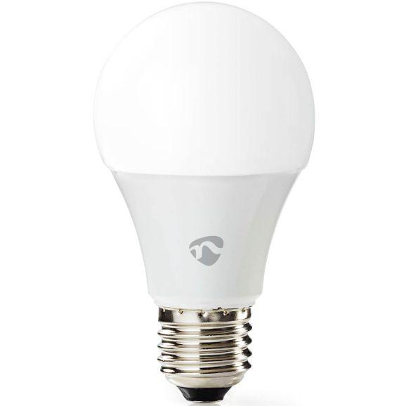 Smart lampa Nedis WiFi Smart LED-lampa E27 RGB Vit 114237