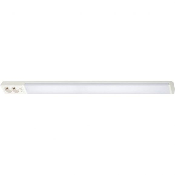 Bänkbelysning Airam LED Handy 10000 2 x uttag IP21 Vit 114242