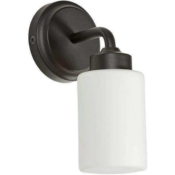 Vägglampa badrum AH Belysning Boda V 966/16 svart Svart 114507