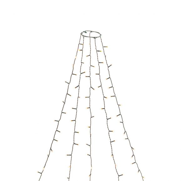 Ljusslinga inne Konstsmide 6480-820 150LED Grön 114652