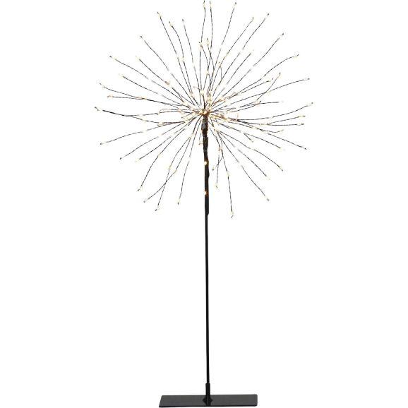 Dekorationsfigur Star Trading 710-02-1 Firework Svart 120 lj Svart 114734