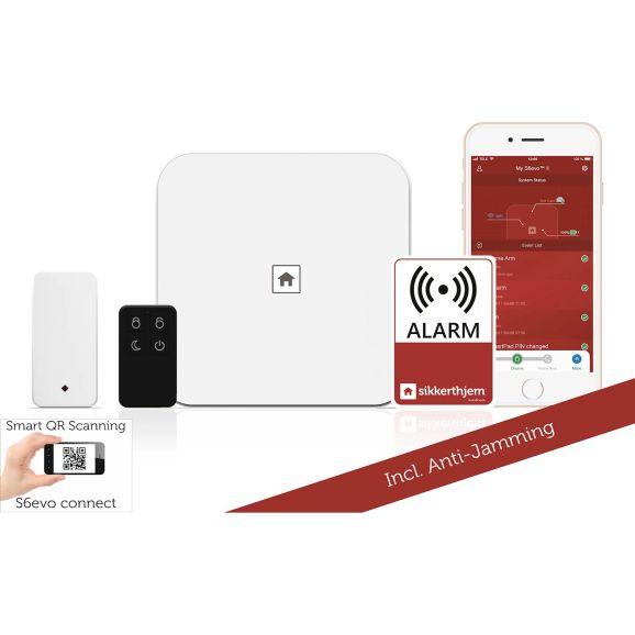 Övervakning & Säkerhet Sikkerthjem Larmsystem Startpaket Vit 115095