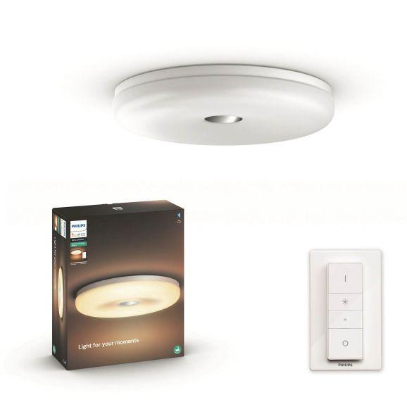 Smart belysning Philips HUE Struana vit Vit 115172