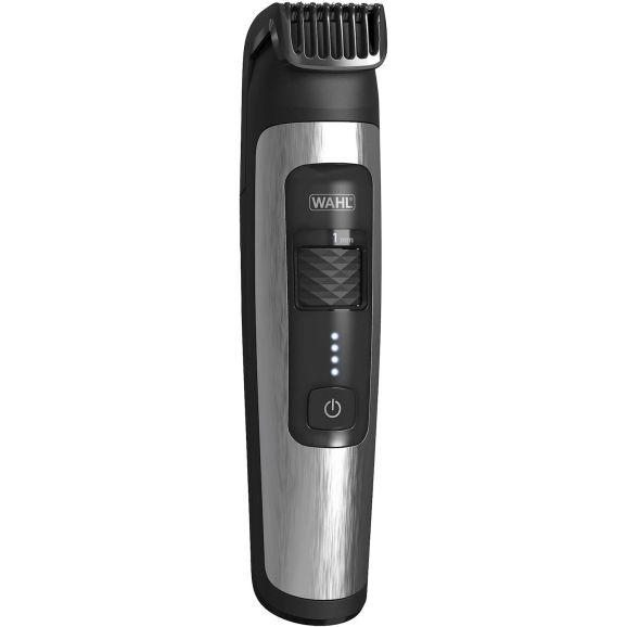 Skäggtrimmer Wahl Aqua Trim Showerproof Li-Ion Silver 115488
