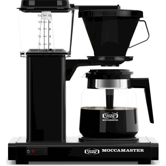 Kaffebryggare Moccamaster HB931 AO Black Svart 115782