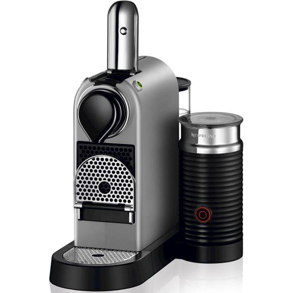 Kapselmaskin Nespresso krups Citiz & Milk, 1,0 l., silver Silver 115837
