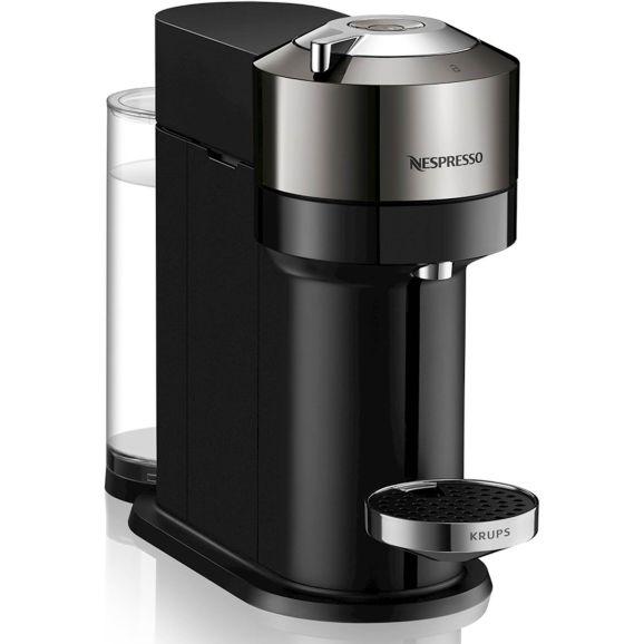 Kapselmaskin Nespresso krups Vertuo Next Deluxe,1,1 l.chrom Krom 115838