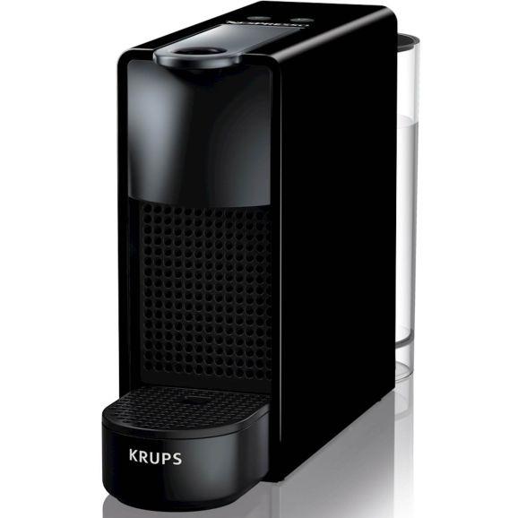 Kapselmaskin Nespresso krups Essenza Mini, 0,6 l., black Svart 115844