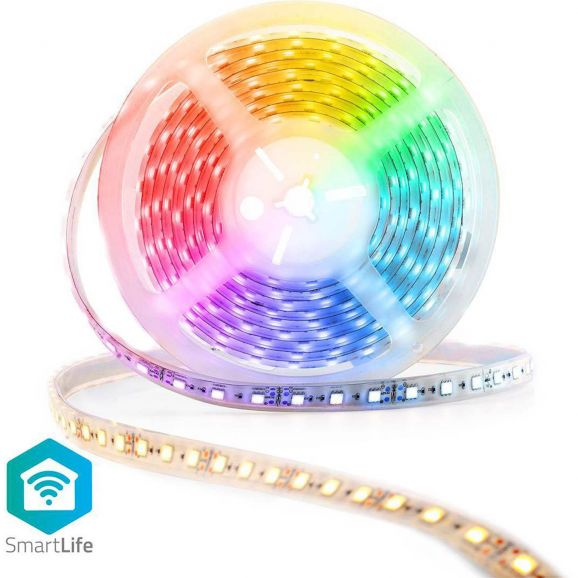 Smart ljuskälla Nedis Smart LED-list med Wi-Fi Annan 116159
