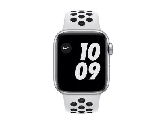 Apple Watch Series SE (Nike) 40mm 4G sølv/platinum