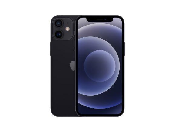 iPhone 12 mini 256GB Sort