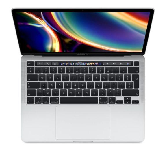 MacBook Pro 13 (2020) Sølv (MWP82H/A)